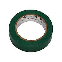 Изолента ПВХ зеленая 3M (100)*