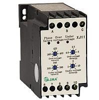 Реле контроля фаз и напряжения XJ11 (РКФН-11Л) 380V (1)