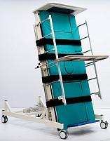 Электрическая четырёхсекционная кровать-вертикализатор с функцией переворачивания и туалетом MET LIFT UP 2.0