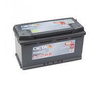 Аккумулятор DETA  DA 1000  (100 Аh -+)