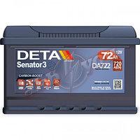 Аккумулятор DETA  DA 722  (72 Аh -+)