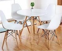 Столы на деревянных и металлич...