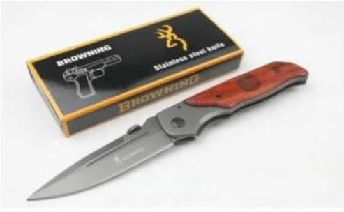 Нож туристический складной Browning DA30