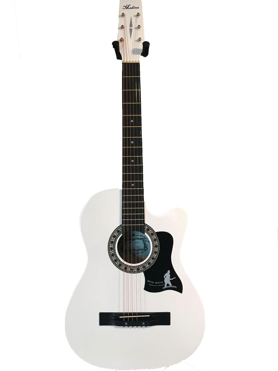 Акустическая гитара Мадина 38С белый