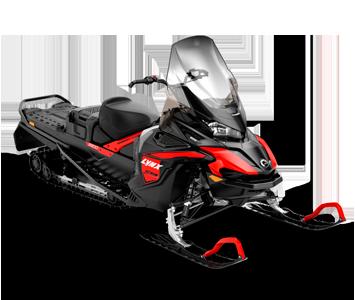 Снегоход 59 Ranger STD 600 ACE Черно-красный 2021
