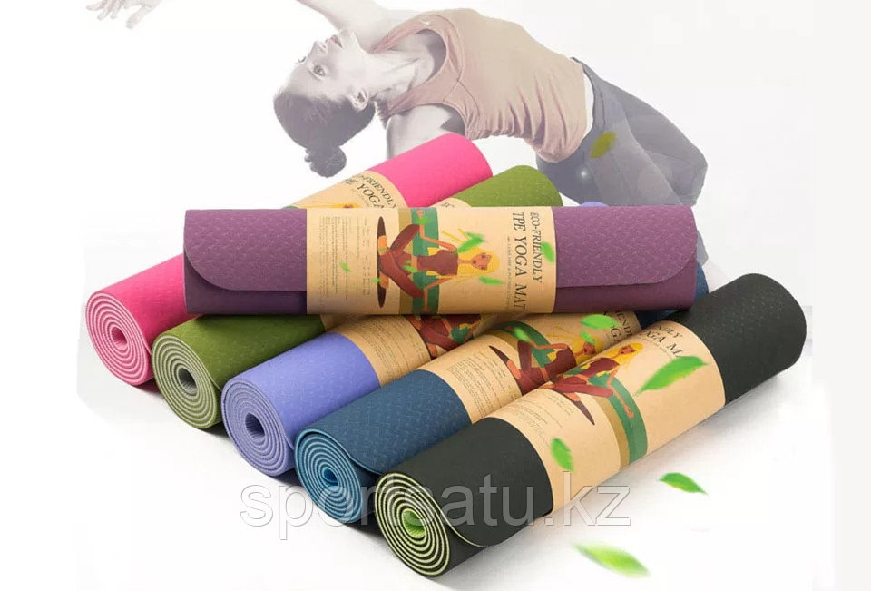 Коврик для йоги и фитнеса 183х81х0.6