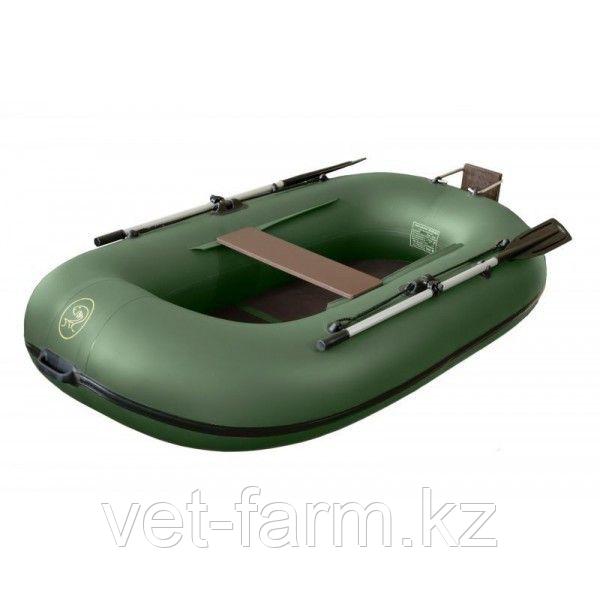 Лодка надувн. BoatMaster 250 Эгоист Люкс (оливковый) навесн.транец