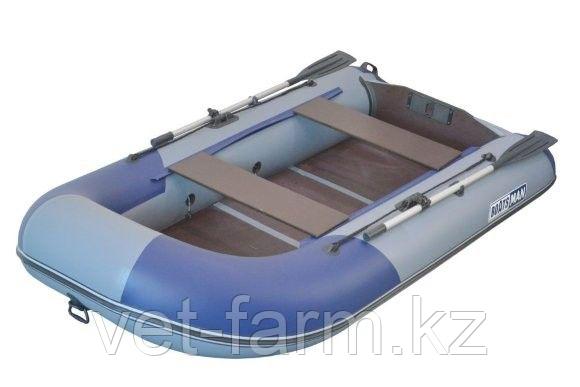 Лодка надувн. Boatsman ВТ300 моторная (серо-синий)