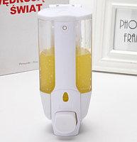 Дозатор антивандальный для жидкого мыла с ключом белый 350 мл