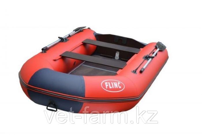 Лодка надувн. Flinc FT320K моторная, Красно-синий