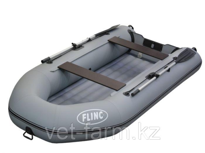Лодка надувн. Flinc FT320А НДНД моторная, (серый)