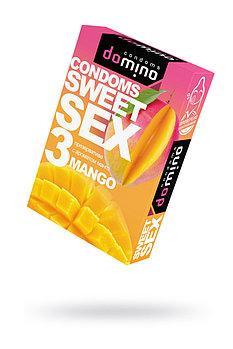 Презервативы LUXE DOMINO SWEETSEX, Манго №3