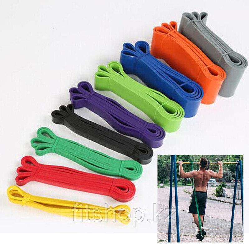 Резиновая лента для фитнеса Power Band Сопротивление от 2 до 15 кг - фото 1