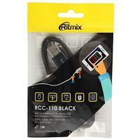 Кабель для зарядки micro USB RITMIX RCC-110 Black