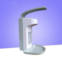 Медицинский локтевой дозатор c евроканистрой и поддоном для антисептика и жидкого мыла 500 мл