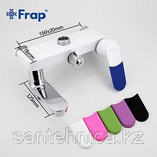 FRAP F2434 Душевая стойка белая/хром, фото 2
