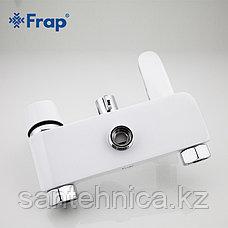 FRAP F2434 Душевая стойка белая/хром, фото 3