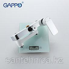 Gappo G2448 Душевая стойка белая/хром, фото 3