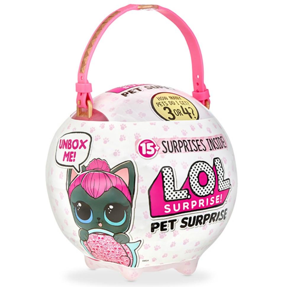 Lol Surprise Biggie Pet-Kitty Лол Сюрприз Бигги Пэт Кошечка