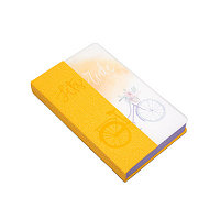 Записная книжка «Bike» желтая