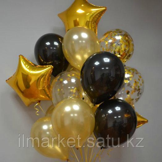 Яркие гелиевые шары 20 штук по 300тг - фото 9
