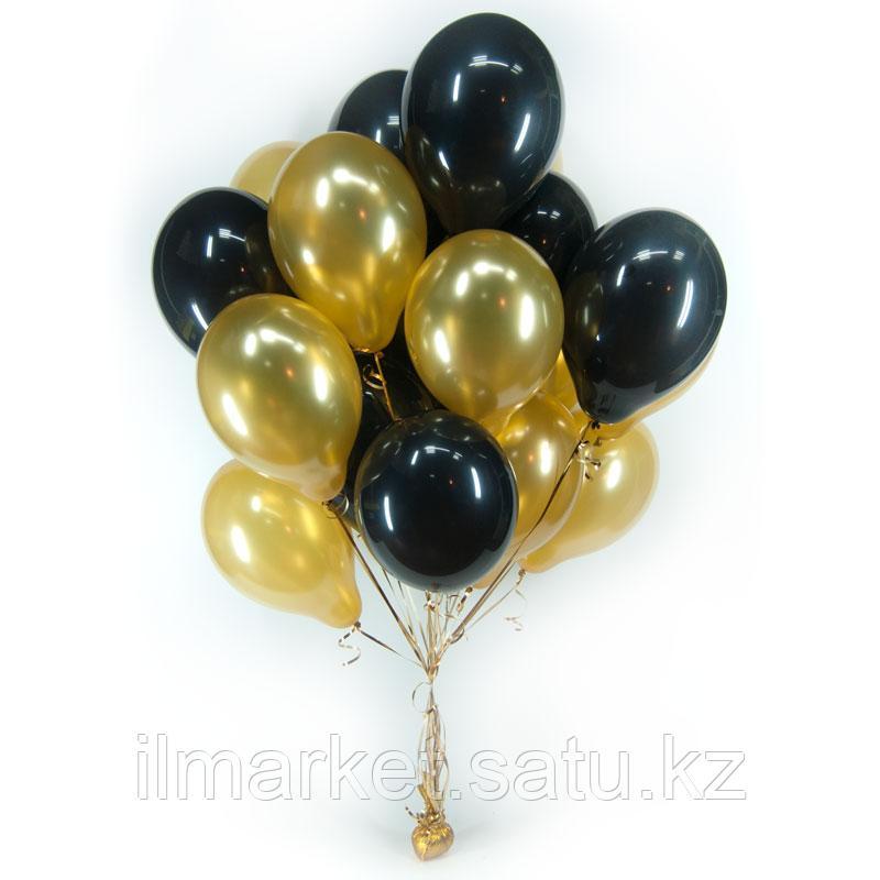 Яркие гелиевые шары 20 штук по 300тг - фото 10