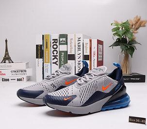 "Кроссовки Nike Air Max 270 ""Gray\ Blue"" (36-45), фото 2"