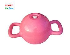 Водоналивная фитнес гиря на 12 LB (цвет-розовый), фото 2