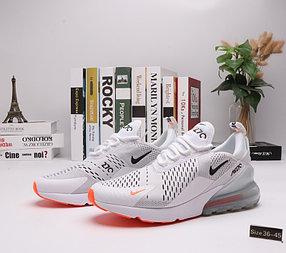 "Кроссовки Nike Air Max 270 ""White Orange"" (36-45)"