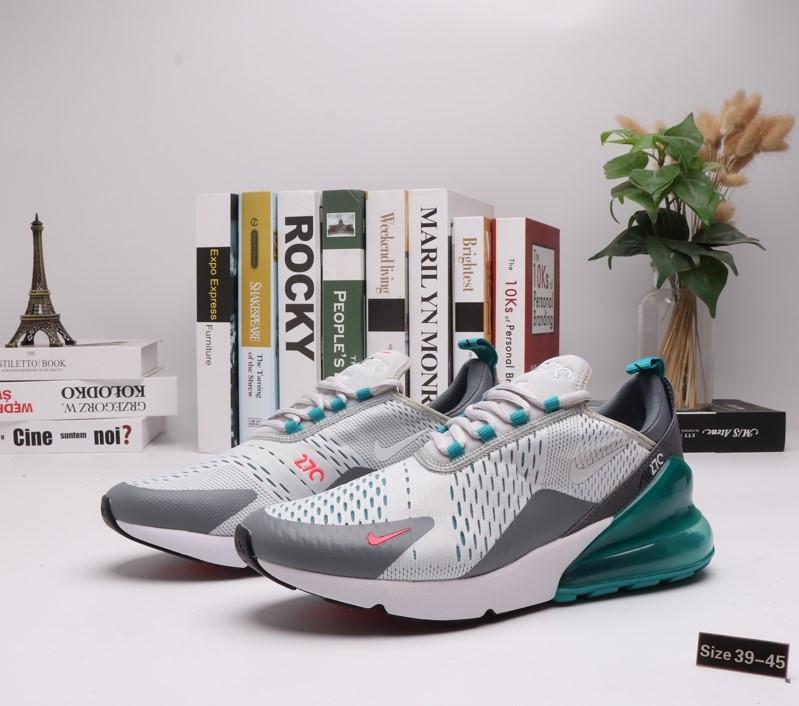 """Кроссовки Nike Air Max 270 """"Aquamarine"""" (39-45) - фото 1"""