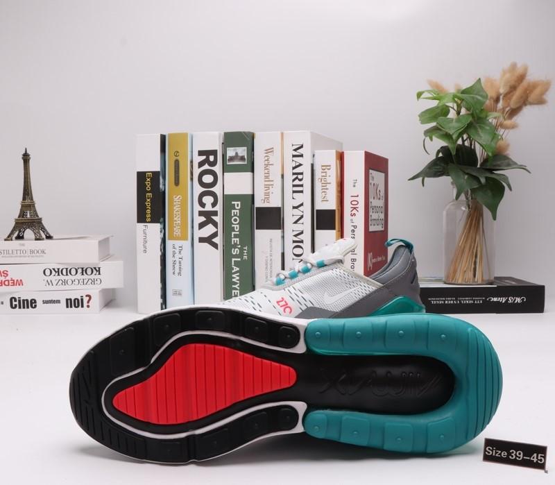"""Кроссовки Nike Air Max 270 """"Aquamarine"""" (39-45) - фото 3"""