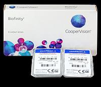 Контактные линзы Biofinity (6 блистеров)