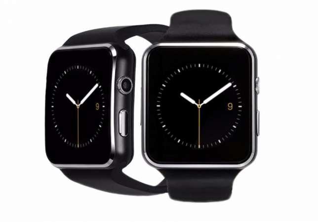 Умные часы смарт + Камера, СИМ и ФЛЭШ карта, smart watch X6 - Bluetooth, flash, sim, Android, ios - фото 3