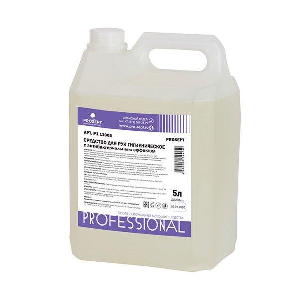 Средство для рук гигиеническое с антибактериальным эффектом  PROSEPT , 5л