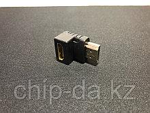 Переходник HDMI-HDMI угловой