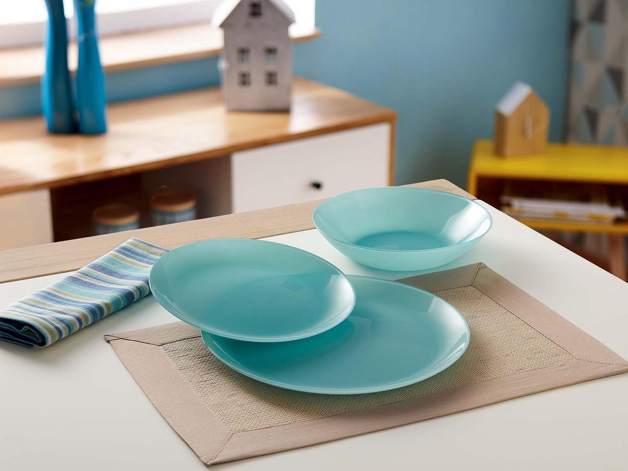 Столовый сервиз Luminarc Arty Soft Blue 18 предметов на 6 персон