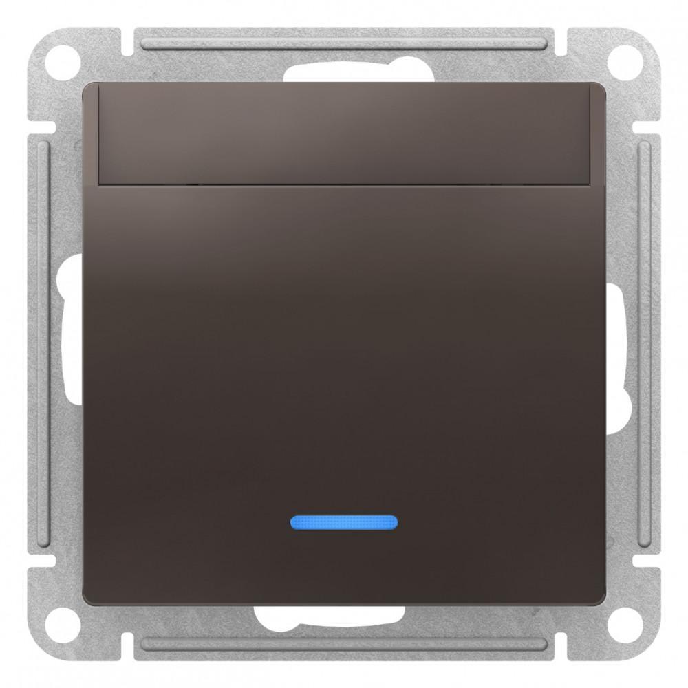 Выключатель карточный для гостиниц , Мокко, серия Atlas Design, Schneider Electric