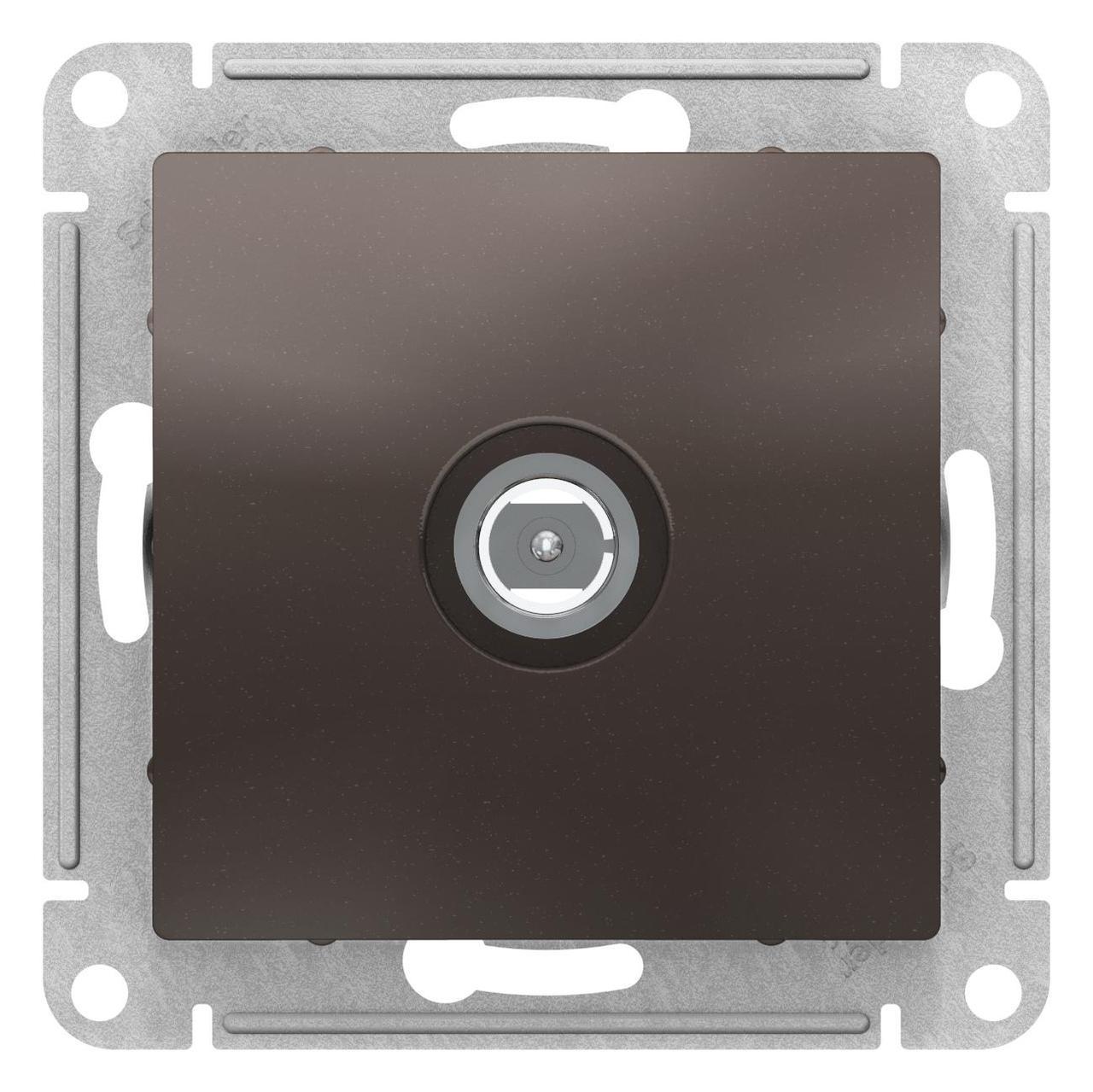 Розетка HDMI , Мокко, серия Atlas Design, Schneider Electric