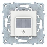 Датчик движения 2300Вт с ручн.упр. 3-х проводная схема, реле , Белый, серия Unica New, Schneider Electric