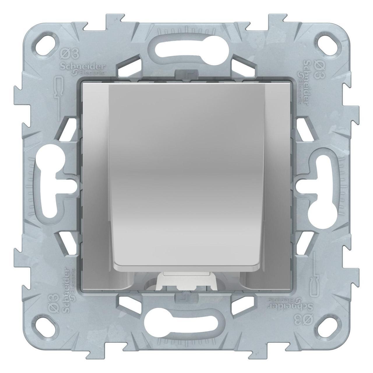 Кабельный вывод , Алюминий, серия Unica New, Schneider Electric