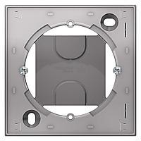 Рамка подъемная 1-ая , Алюминий, серия Atlas Design, Schneider Electric