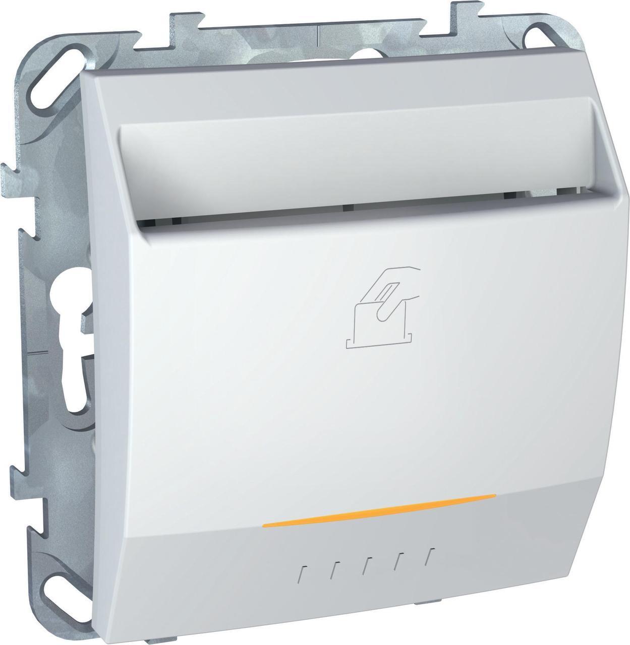 Выключатель карточный для гостиниц , Белый, серия Unica, Schneider Electric