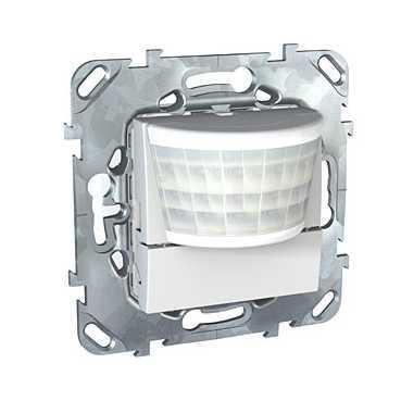 Датчик движения 400Вт без ручн.упр. 2-х проводная схема , Белый, серия Unica, Schneider Electric