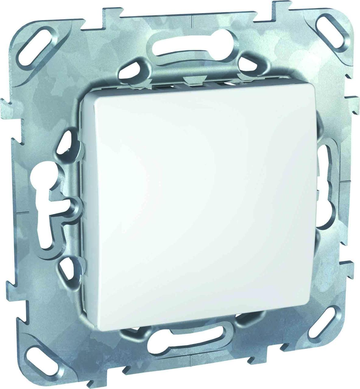 Заглушка , Белый, серия Unica, Schneider Electric