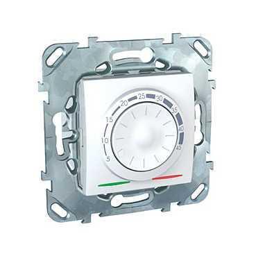 Терморегулятор для теплого пола , Белый, серия Unica, Schneider Electric