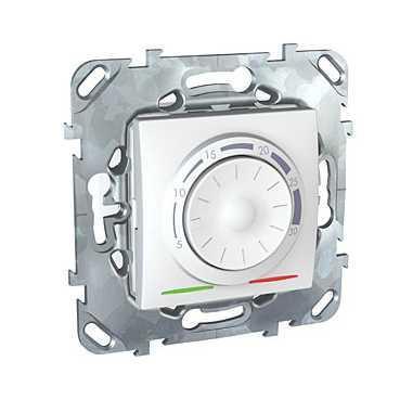 Термостат комнатный , Белый, серия Unica, Schneider Electric