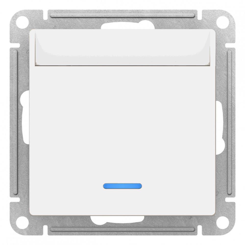 Выключатель карточный для гостиниц , Белый, серия Atlas Design, Schneider Electric