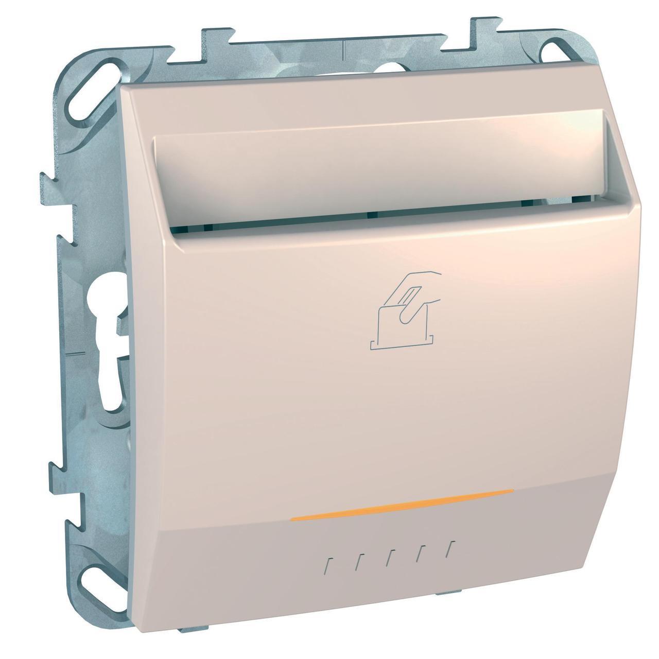 Выключатель карточный для гостиниц , Бежевый, серия Unica, Schneider Electric