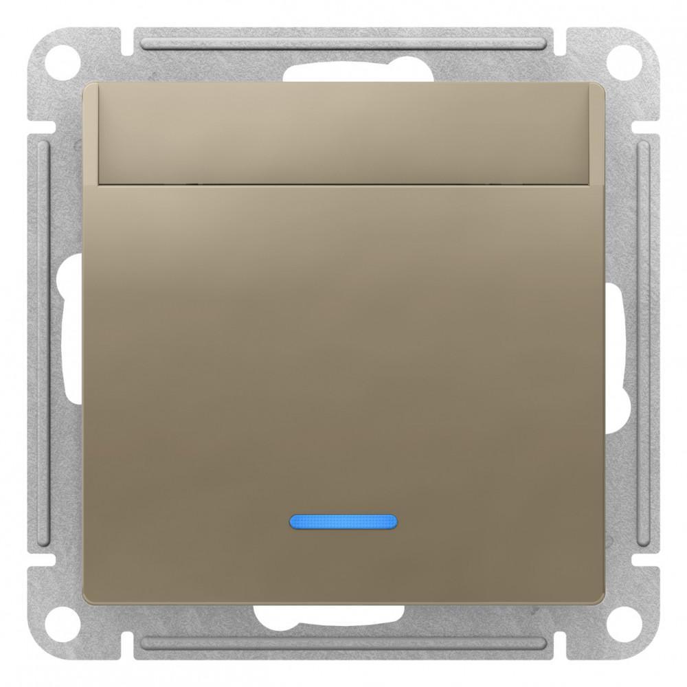 Выключатель карточный для гостиниц , Шампань, серия Atlas Design, Schneider Electric