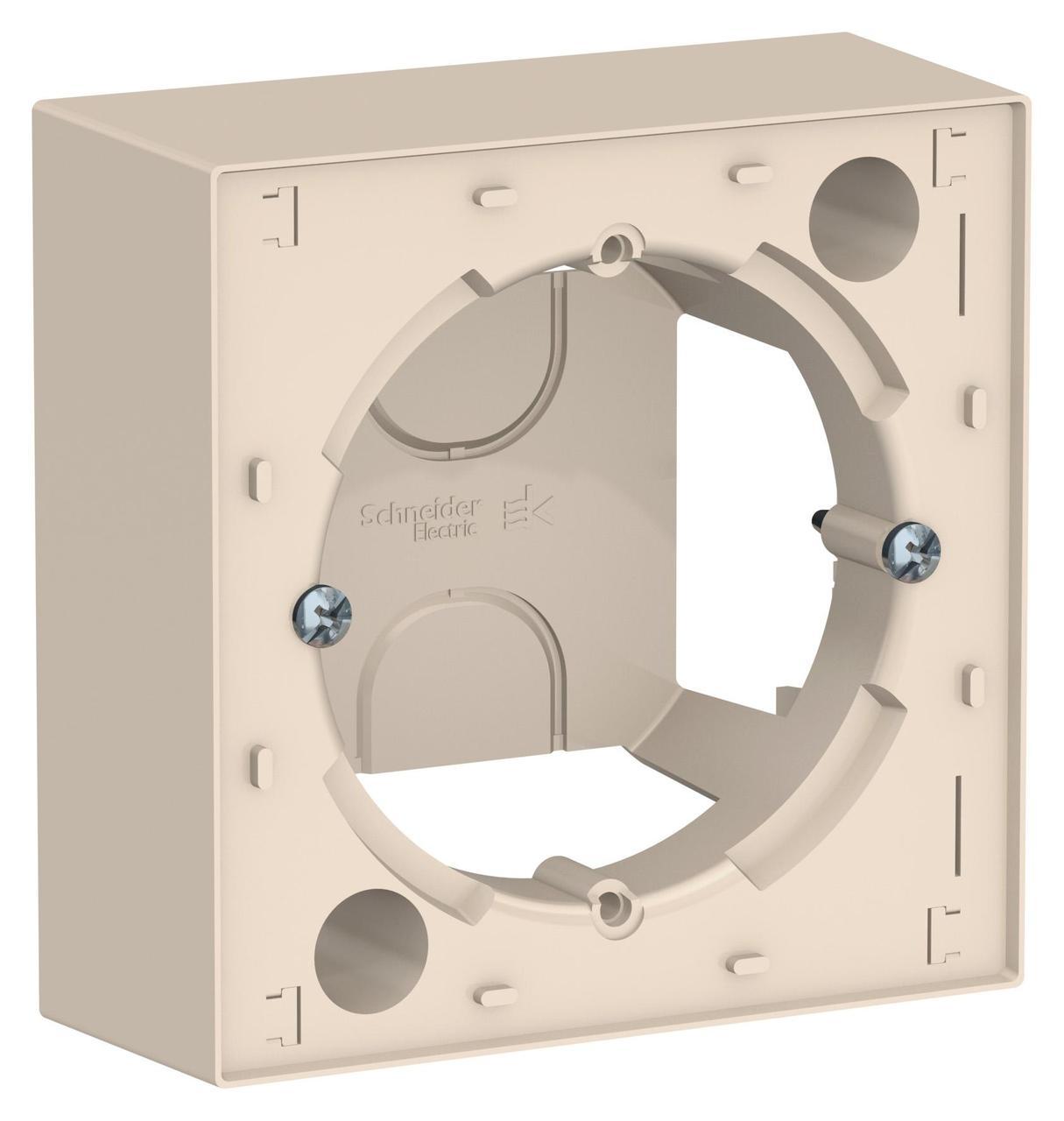 Рамка подъемная 1-ая , Бежевый, серия Atlas Design, Schneider Electric